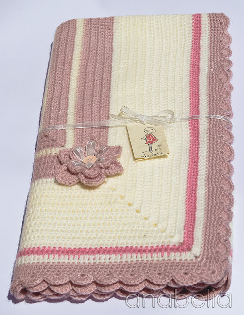 Baby blanket Sara by Anabelia