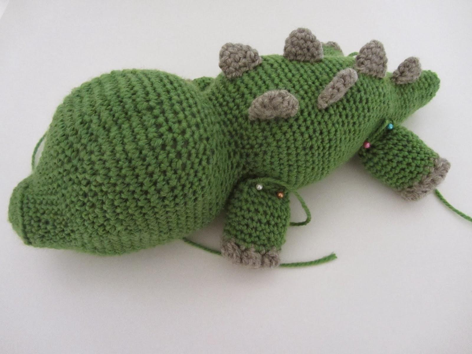 L(i)ebenswelt: Amigurumi Konrad das Krokodil