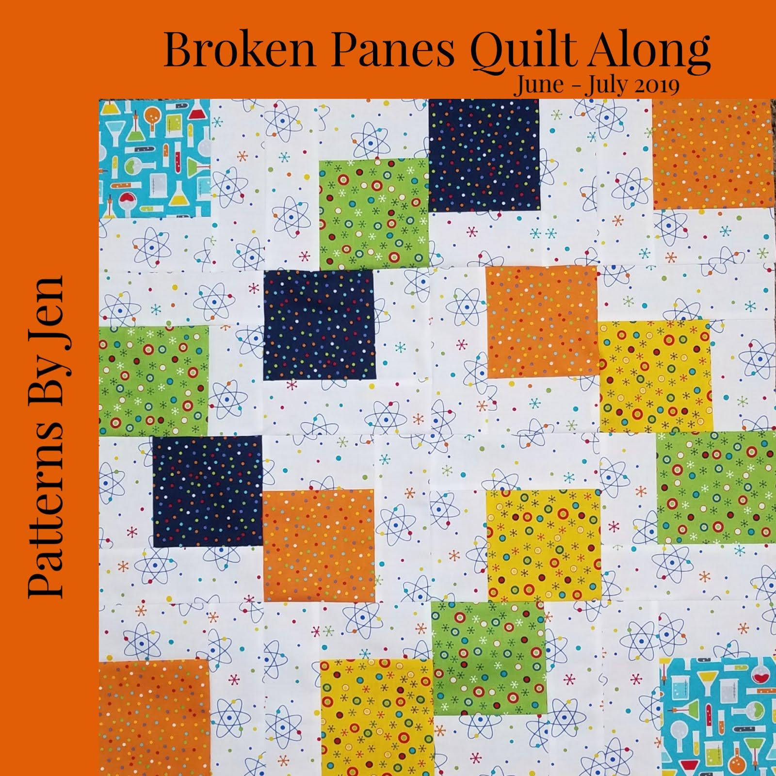 Broken Panes QAL