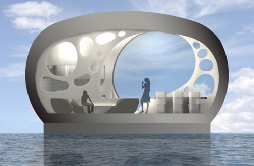 Futuristic Houses and Flying Cars on Pinterest | Floating ...