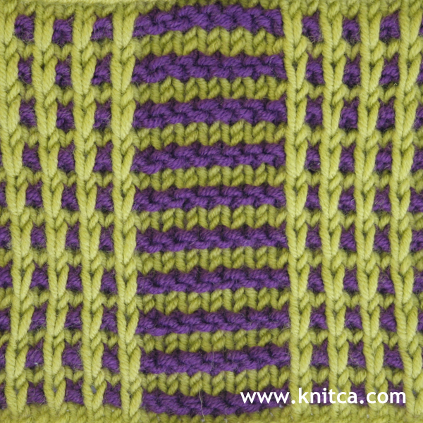 Knitting Stitches Pm : knitca: 5 colorful knitting stitch patterns