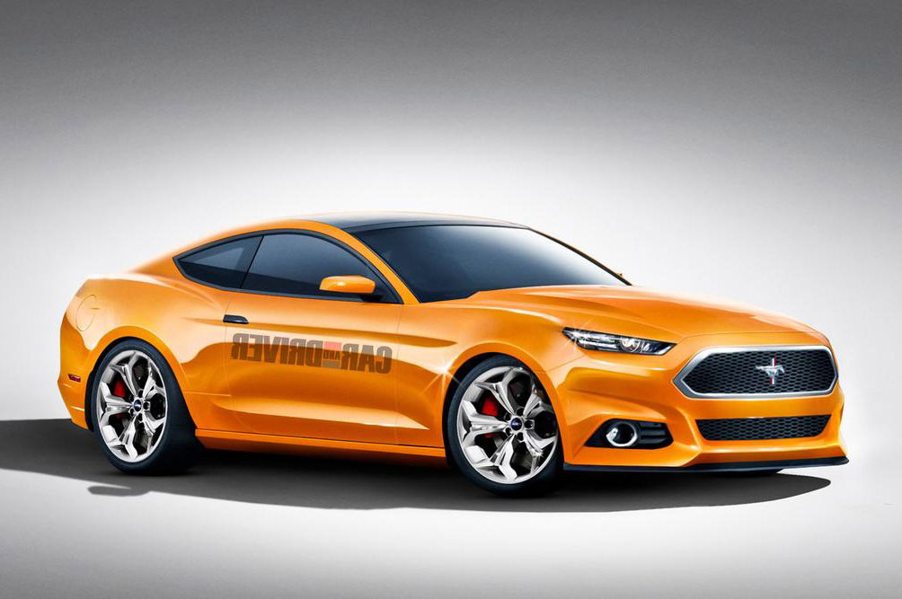 Car and Driver 2015 Ford Mustang