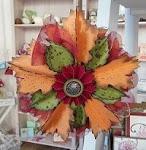 Herbstlicher Ornamentkranz