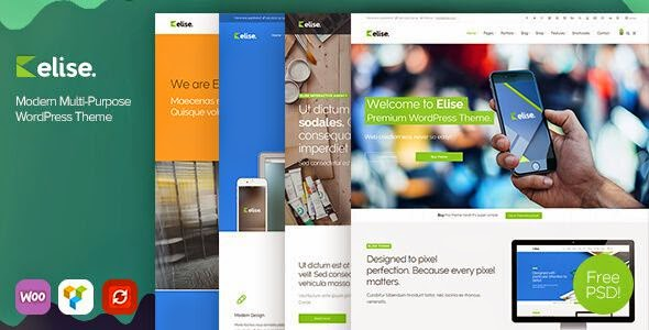 Elise - Modern Multipurpose WordPress Theme