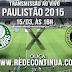 Palmeiras x XV Piracicaba - Paulistão - 16hs - 15/03/15