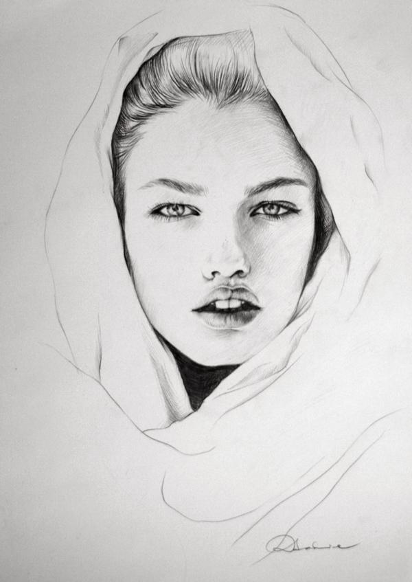 Рисунок черно белый мальчик