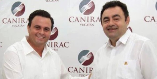 Reeligen para un tercer periodo al presidente de CANIRAC Yucatán