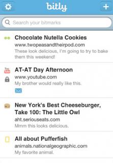 تطبيق Bit.ly لتقصير الروابط على الايفون