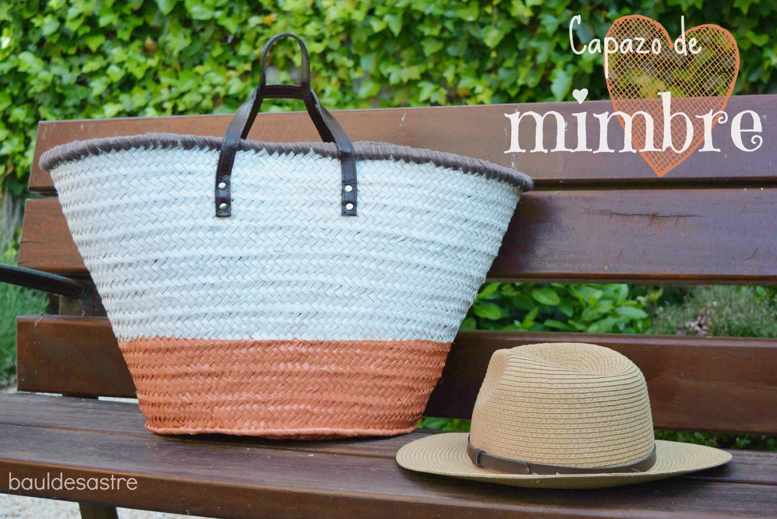 Diy capazo de mimbre handbox craft lovers comunidad diy tutoriales diy kits diy - Capazo mimbre playa ...
