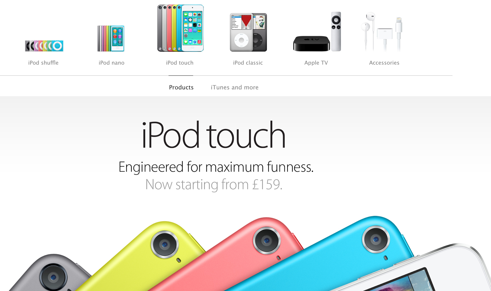 key success factors of apple ipod Apple's key competitive advantage  success apple's brand allows the company to predictably sell huge volumes of its hardware to new and  apple takes a 30%.