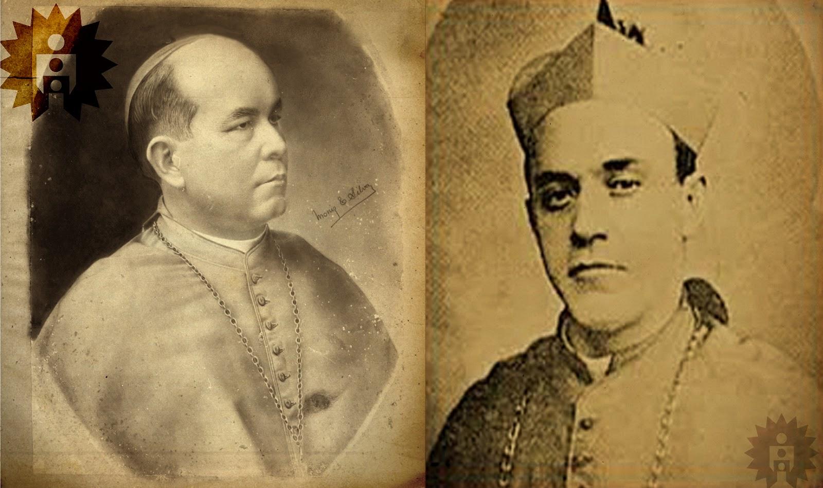Dom João Batista Corrêa Nery e Monsenhor Joaquim Mamede da Silva  #666666 1600 949
