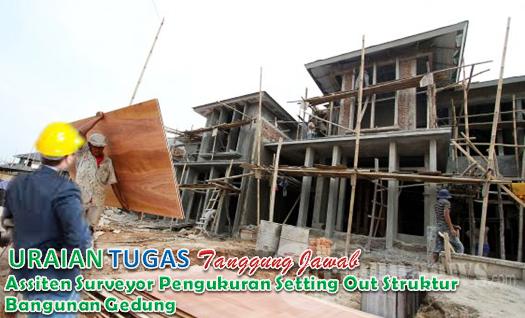 Uraian Tugas Dan Tanggung Jawab Assiten Surveyor Pengukuran Setting Out Struktur Bangunan Gedung
