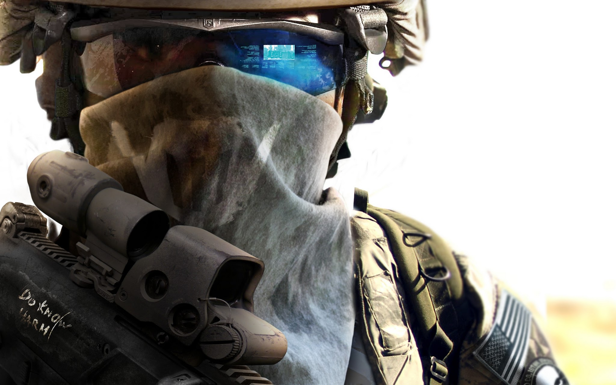 HD Ghost Recon Game Soldier