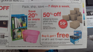Other Staples Mail and Ship Promo