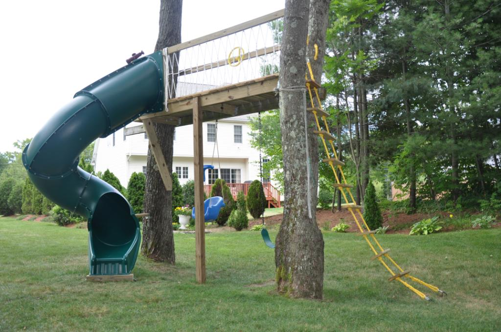Swing set no update for Tree house swing set