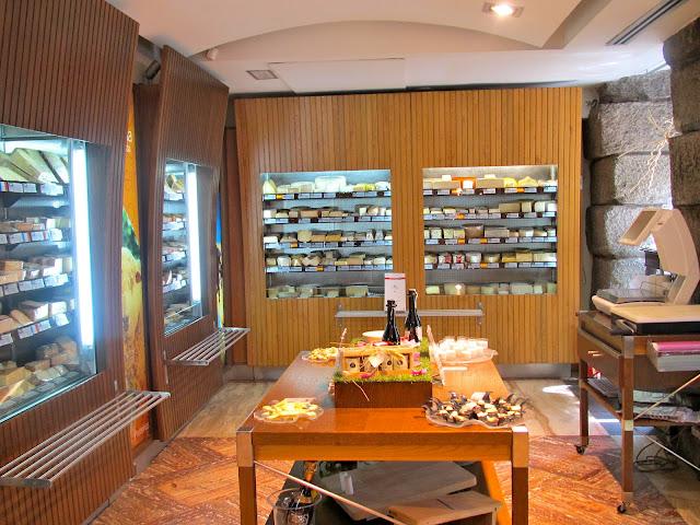 Poncelet cheese shop inetrior