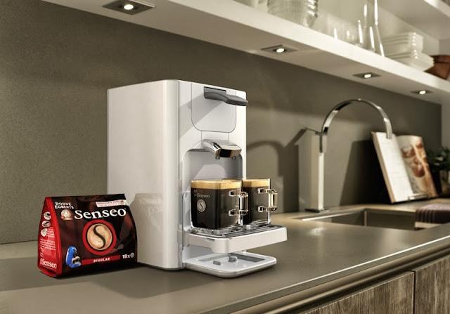 Cafetera Senseo Quadrante en color blanco
