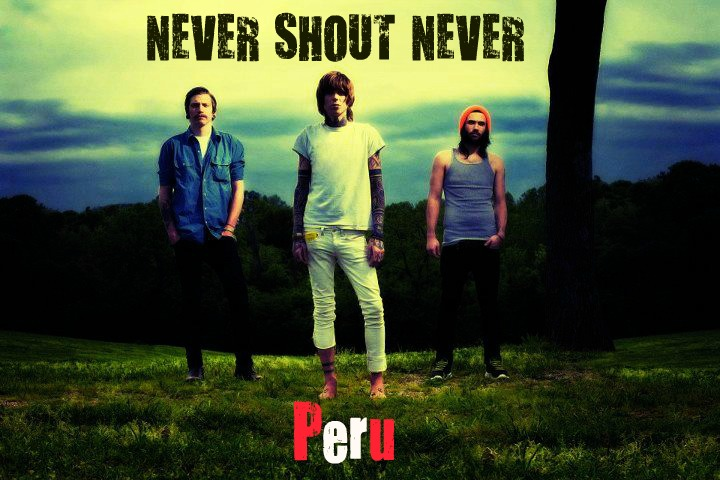 Never Shout Never PERU fanclub ♥OFICIAL