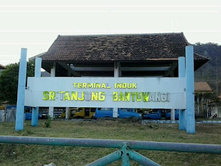 Terminal bis Sritanjung, Ketapang, Banyuwangi.