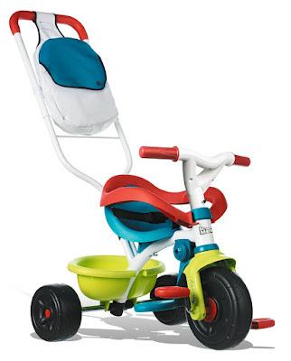 JUGUETE - BE MOVE : Confort Pop - Triciclo  Producto Oficial | Smoby 444246 | A partir de 15 meses  Comprar en Amazon España