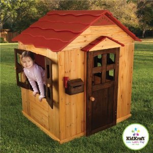 Wooden Outdoor Playhouse from KidKraft