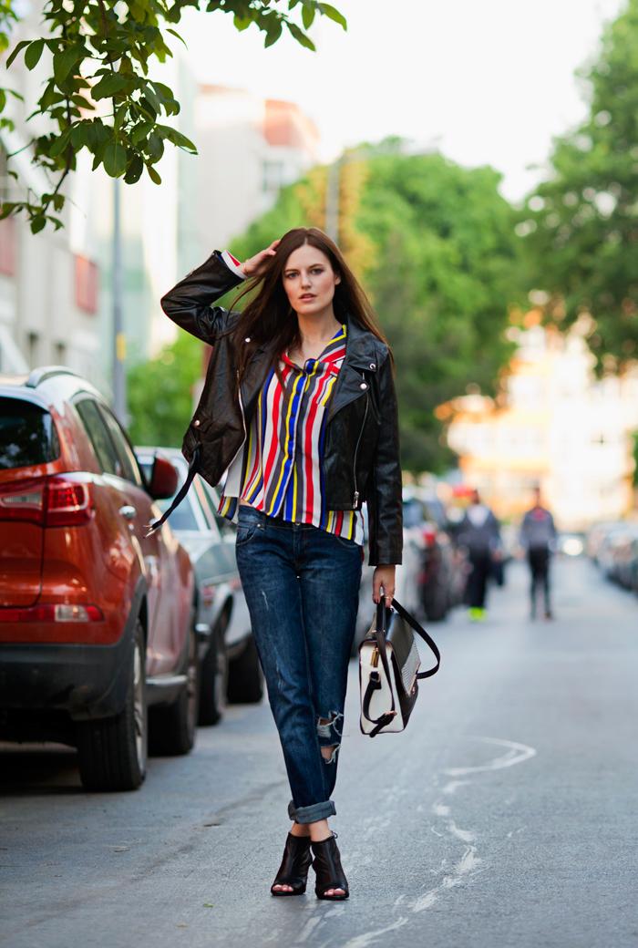 Jeans denim woman