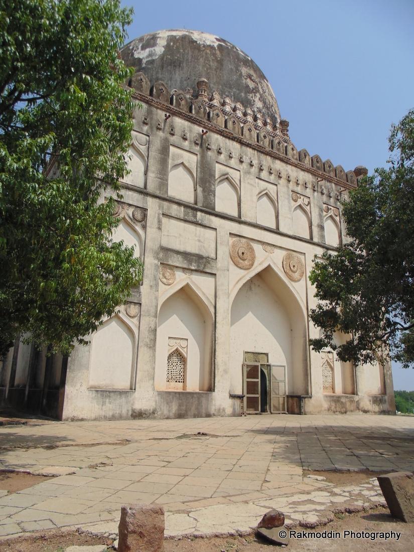 Ashtur - The Bahmani Tombs in Bidar, Karnataka, India