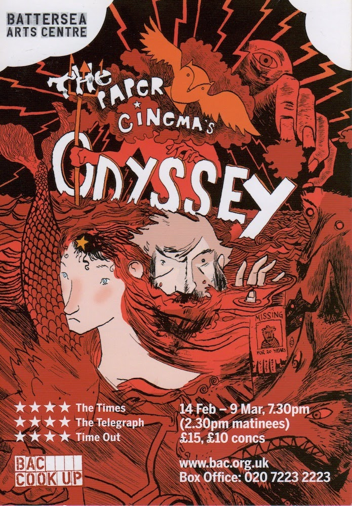The Paper Cinema's The Odyssey