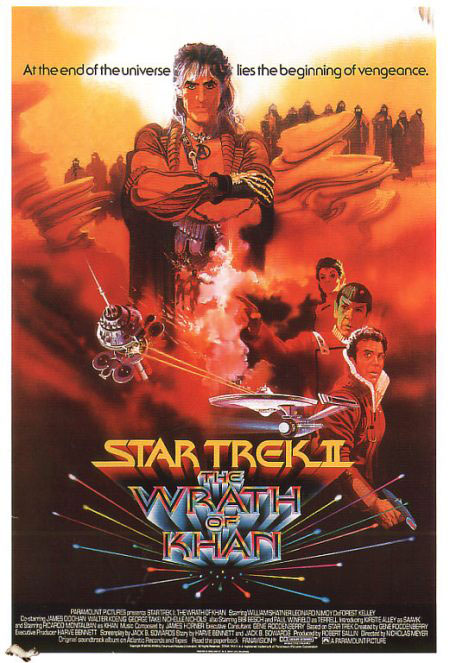 Resultado de imagen de Star Trek II: La ira de Khan (1982)