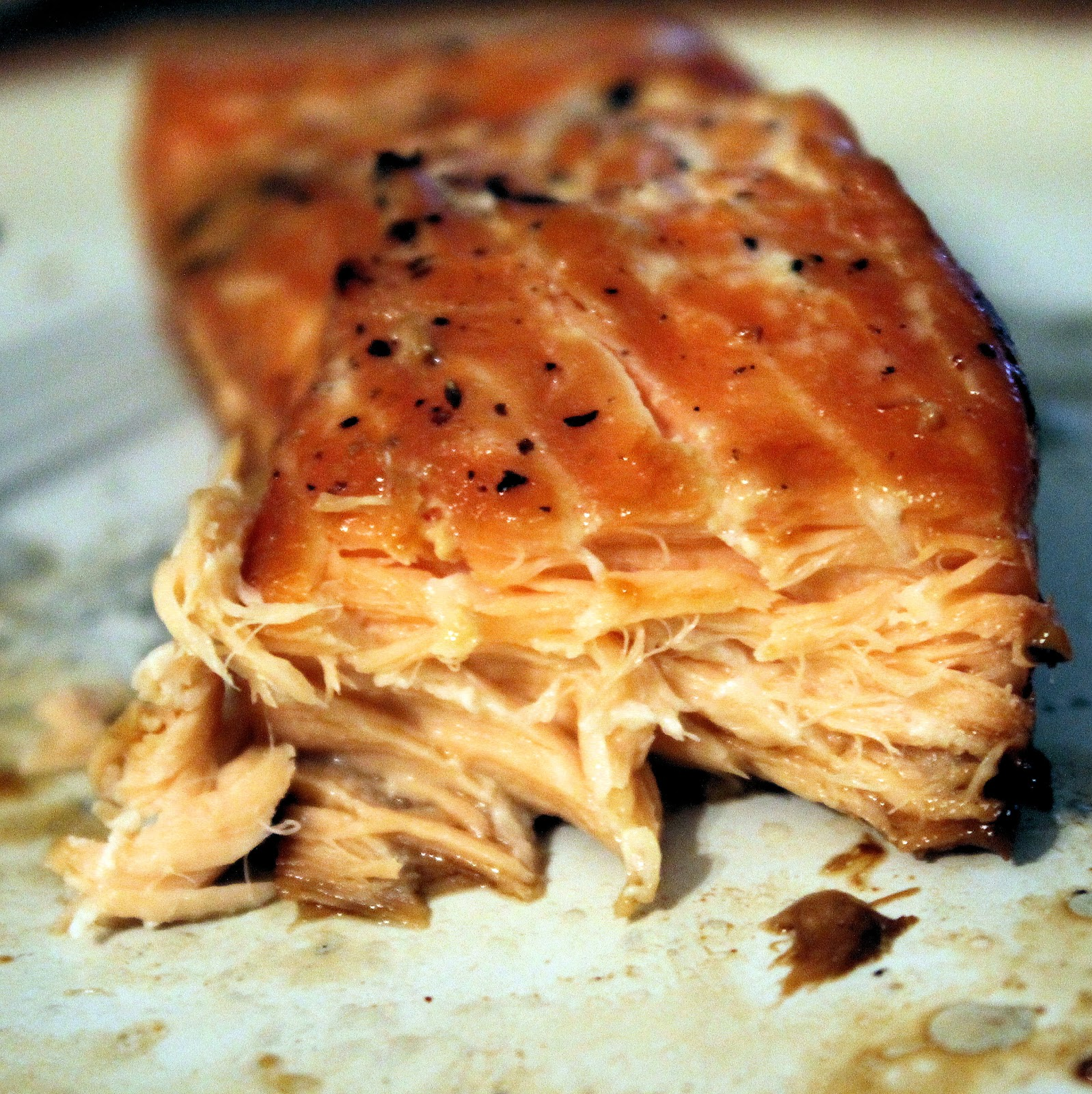 Are You Ready For The Easiest Salmon Recipe, Perhaps Ever? The Name Says It  All: Maplesoy Glazed Salmon You Just Use Equal Parts Maple Syrup And  Reduced