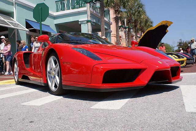 Gambar Mobil Sport Ferrari Enzo 13