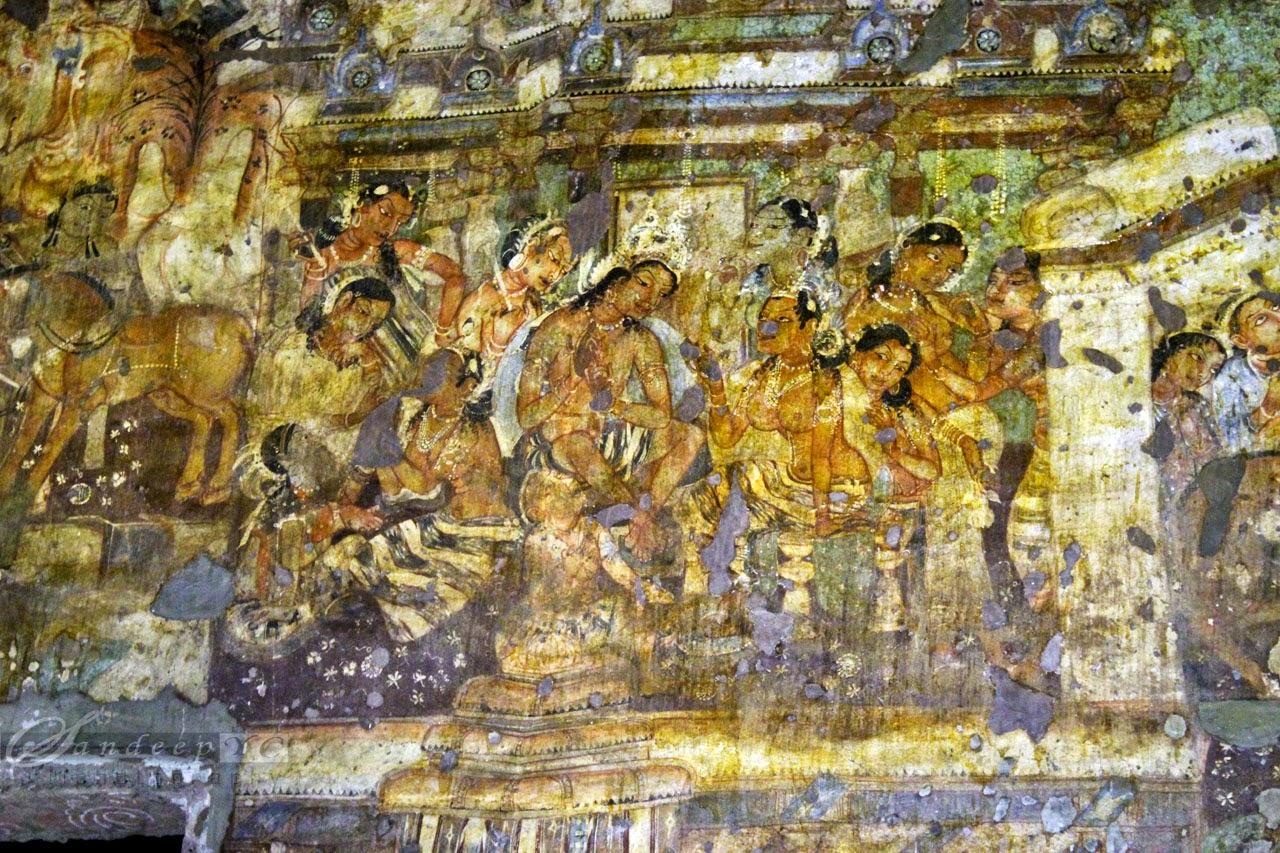 Mahajanaka with Sivali, Mahajanaka jataka, Mahayana phase