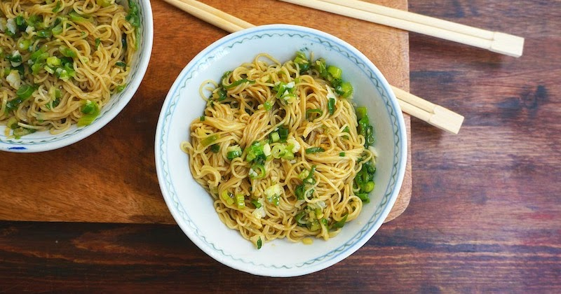 Ginger And Scallion Noodles
