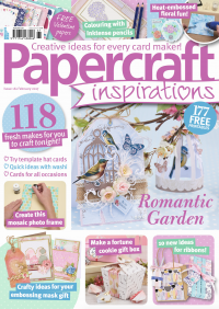 My card was featured in Papercraft Inspirations December 16