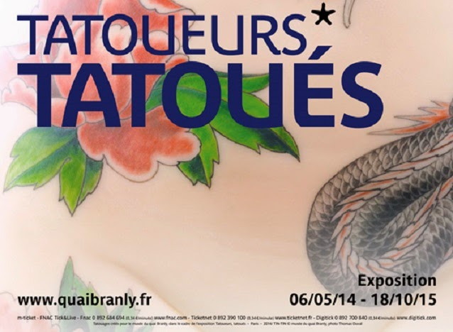 """Tattooists, tattooed"" at the Quai Branly Museum, France"