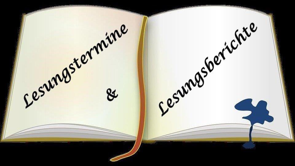Lesungstermine & -berichte