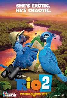 Rio 2 2014 Movie Poster