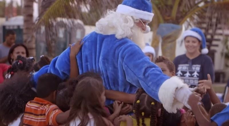 El Milagro de Navidad WestJet 2014, en República Dominicana