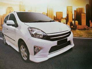 Harga dan Spesifikasi Daihatsu Ayla Terbaru 2012