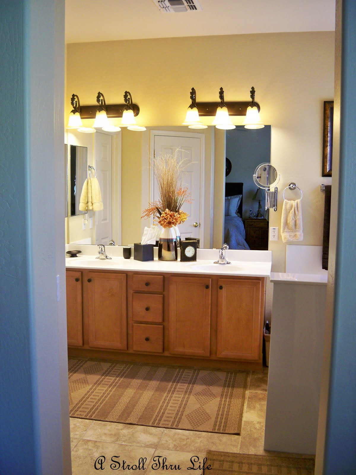 A Stroll Thru Life Taming the Bathroom Vanity
