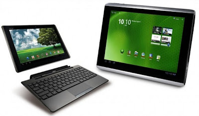 news Asus Transformer Eee Pad TF101 vs. Acer Iconia A500 2011