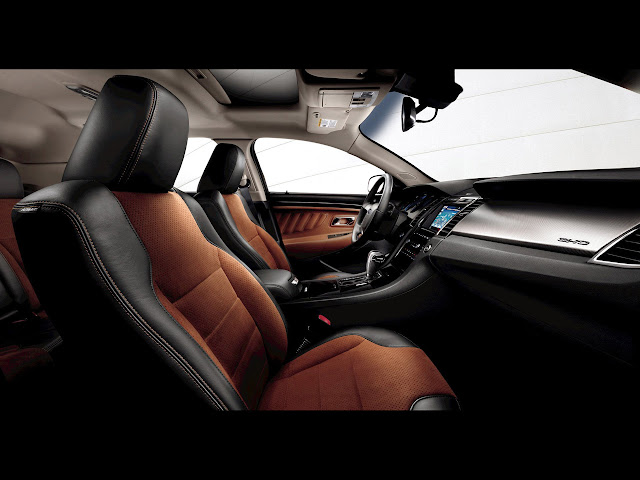 Interior shot of 2011 Ford Taurus SHO