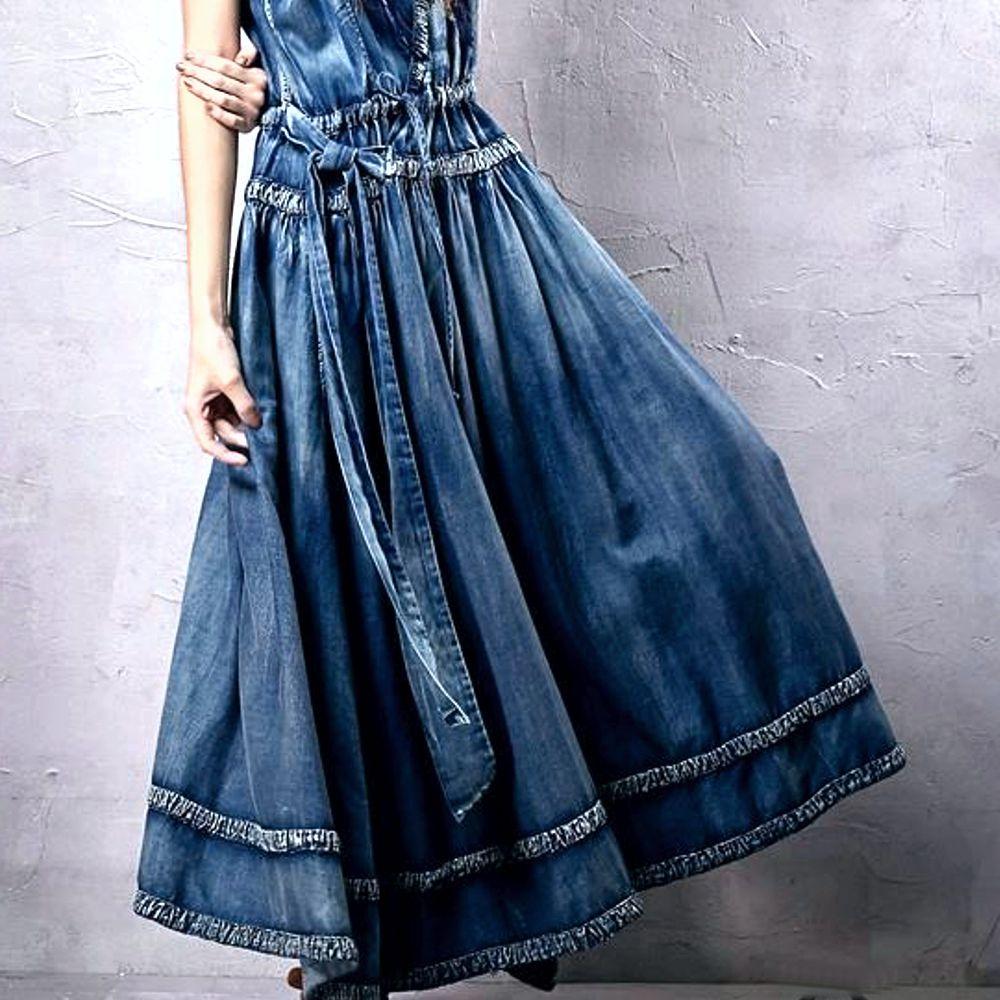 Vestido jeans feminino mercadolivre