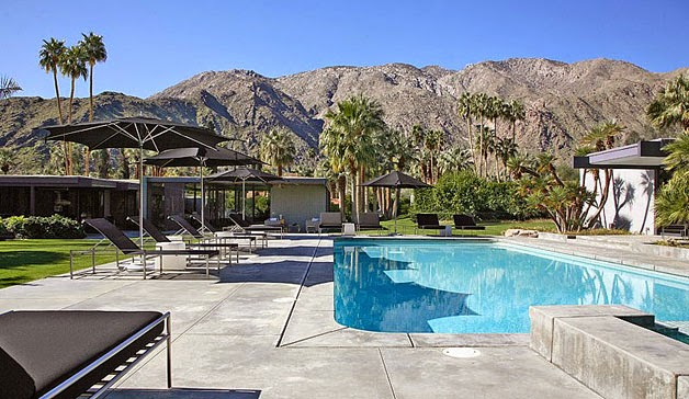Fotos de la casa que adquirió Leonardo DiCaprio en Palm Springs 9