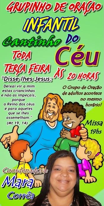 Grupinho de Oração Infantil Cantinho do Céu