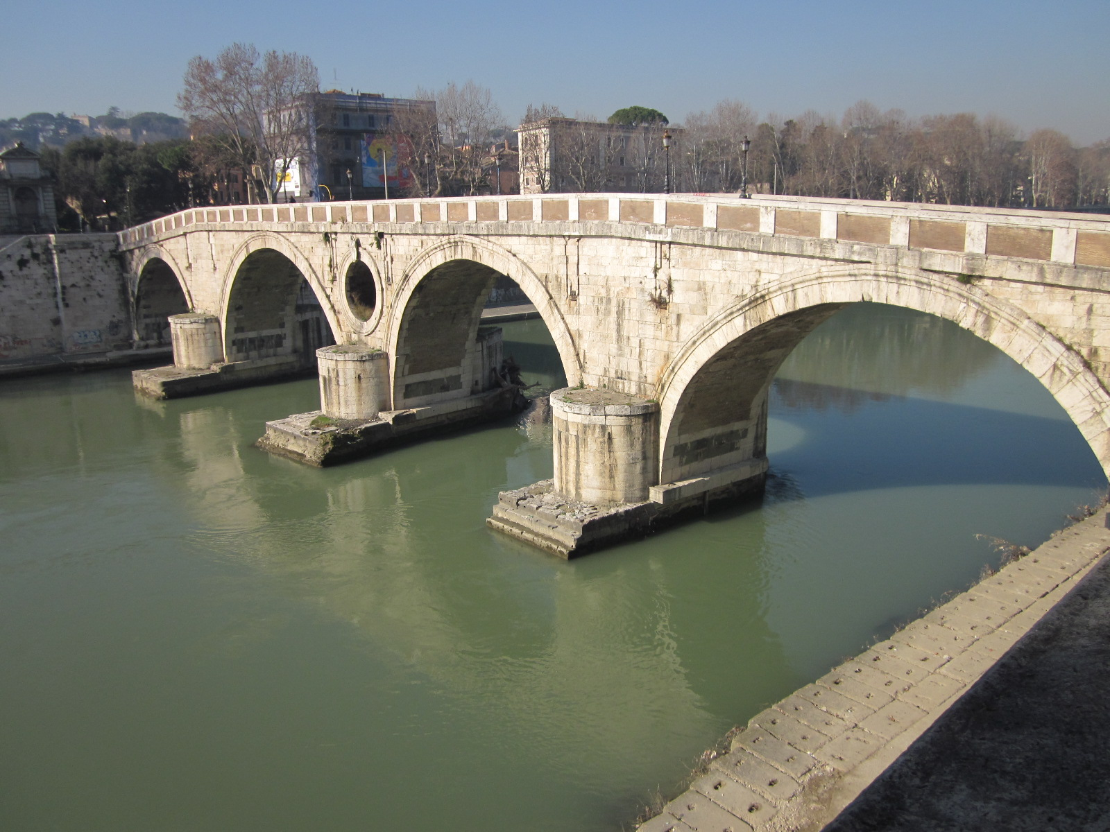 Sights of Rome: 12. Ponte Sisto: A Bridge with a History