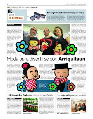 Entrevista a Arriquitaun en Diario de Sevilla