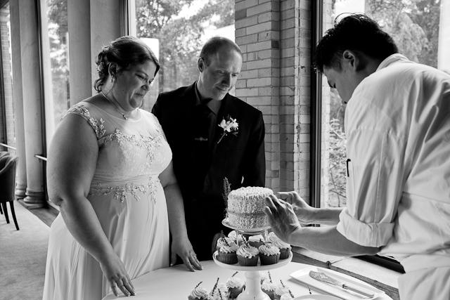 Wheatleigh hotel, Lenox Berkshire MA wedding, elopement, reception, cake, cutting, cupcake, details photography, photographer