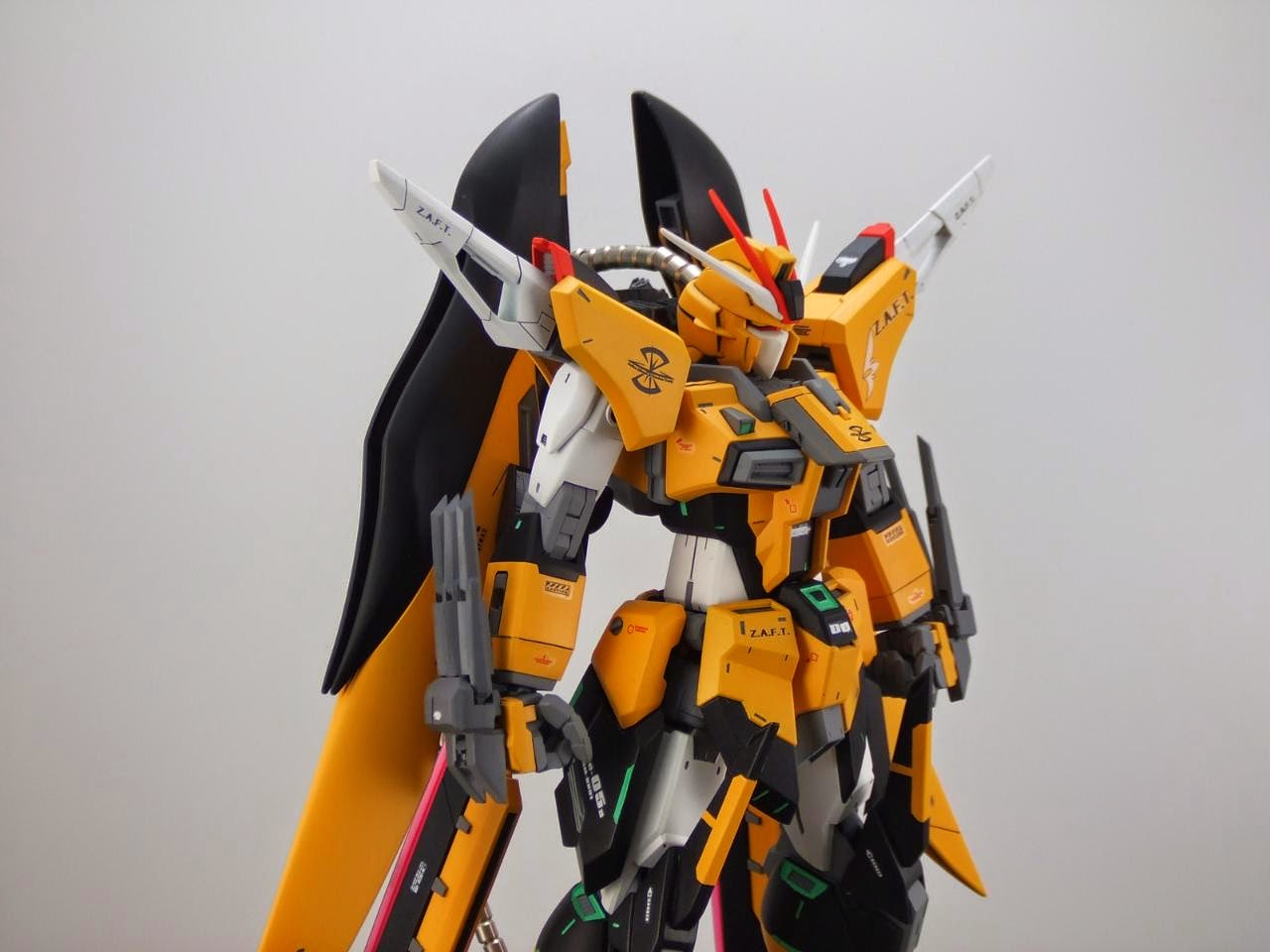 Custom Build  1  100 Zgmf-x89s Dust Gaia Gundam