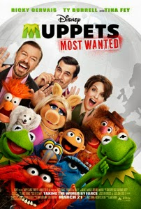 Poster original de El tour de los Muppets